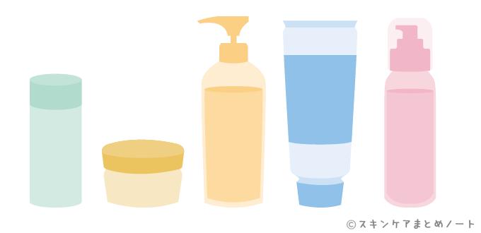 色々なタイプのクレンジング剤
