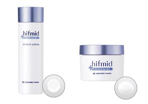 ヒフミドの化粧水と保湿クリーム
